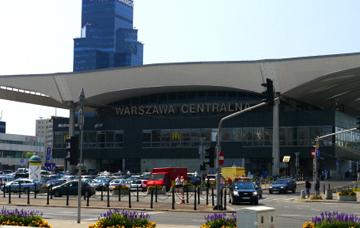 Warsaw train station
